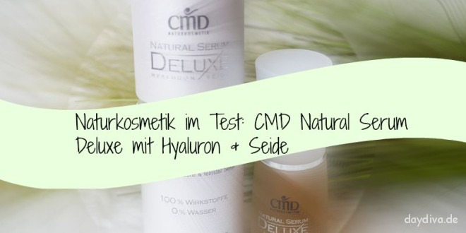 CMD Natural Serum Deluxe mit Hyaloron und Seide