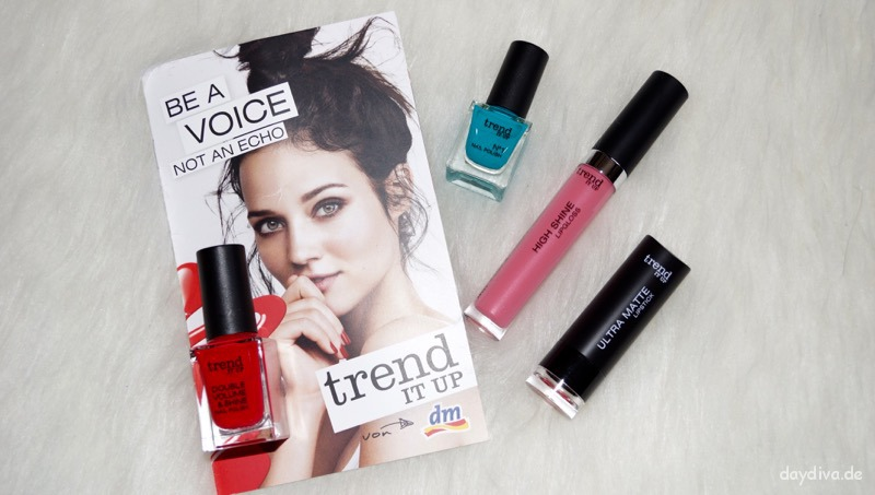 mein Testpaket von Trend it up