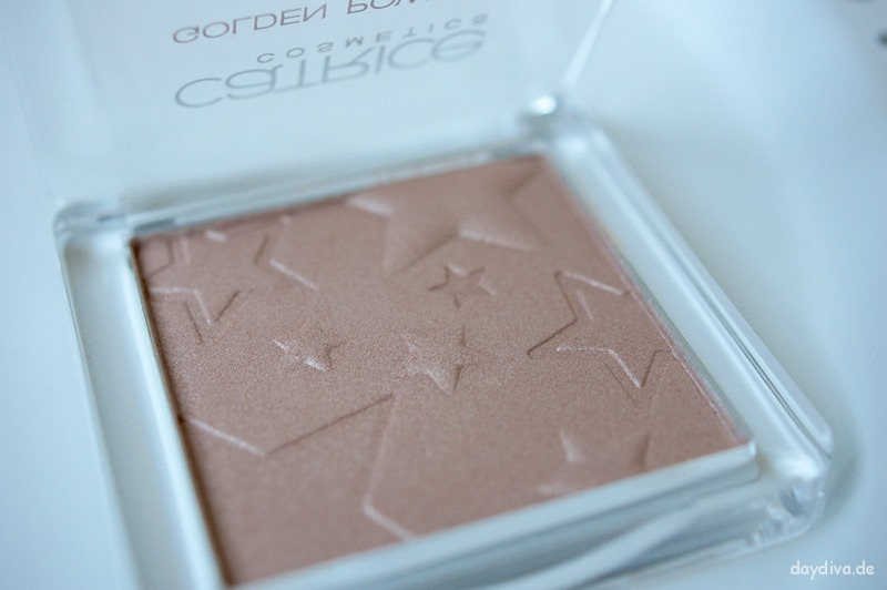 zoom in Catrice Golden Powder