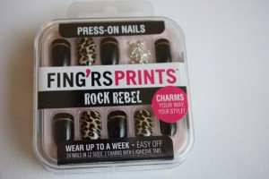 press on nails von fing'rs prints Rock Rebel