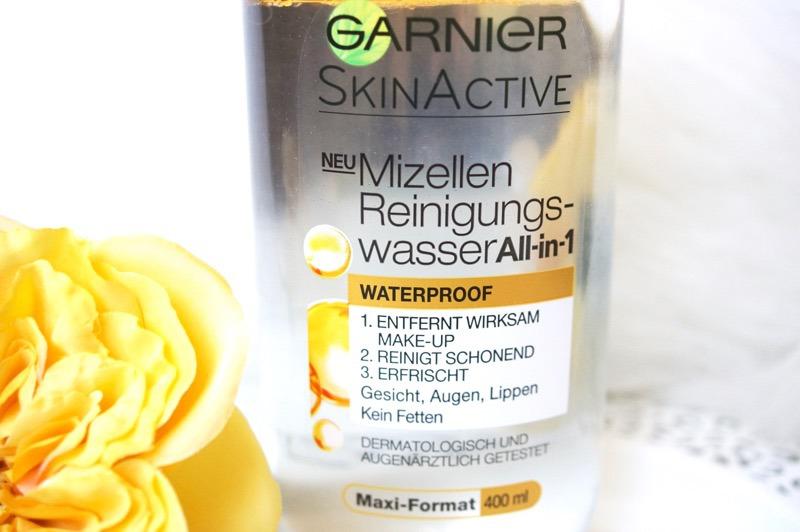 Wirksamkeit von Garnier SkinActive Mizellen Reinigungswasser