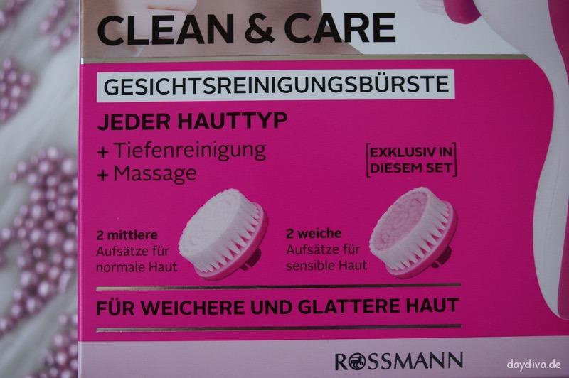 Rival de Loop Gesichtsreinigungsbürste Clean&Care Verpackung