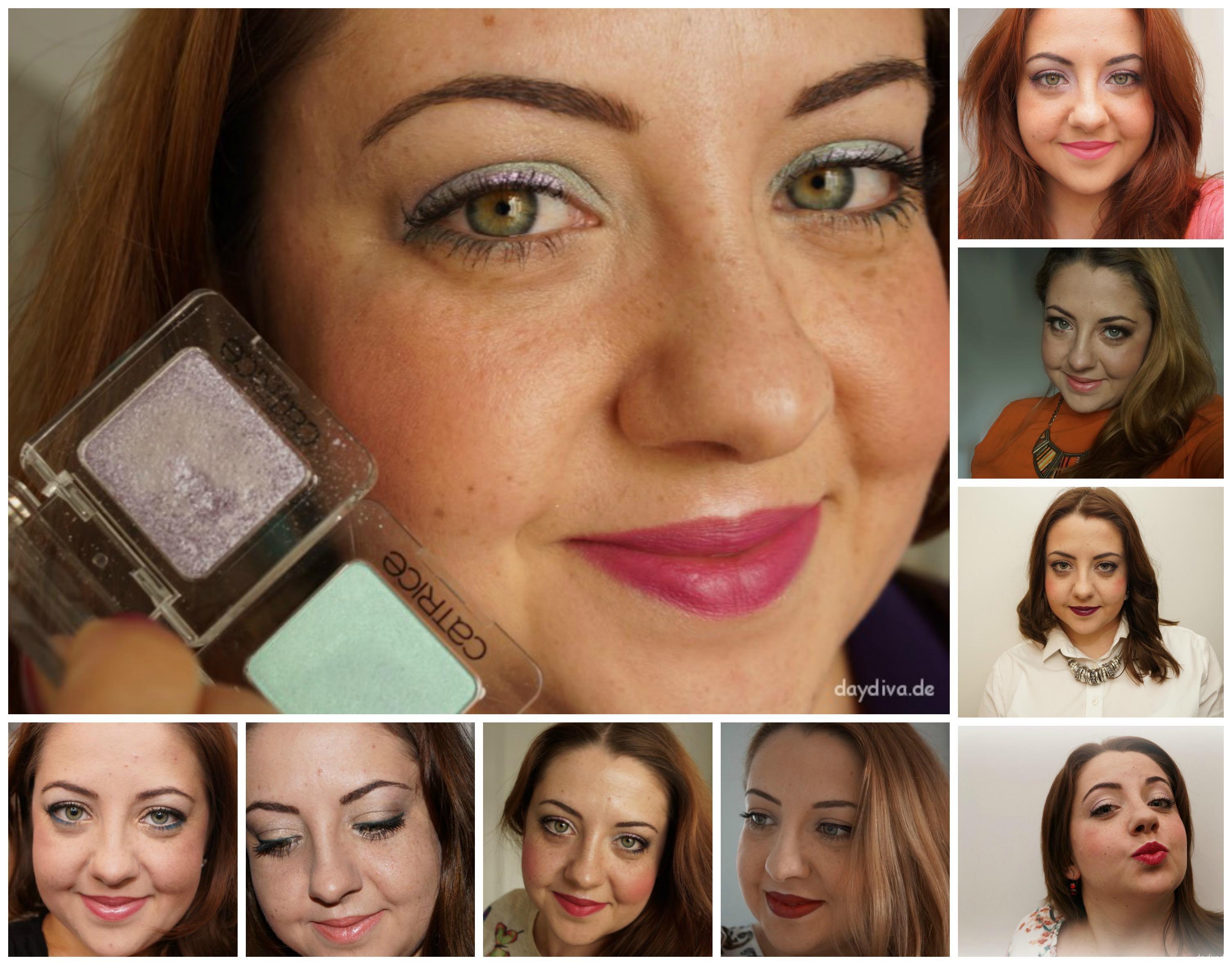 Meine Augen Make-ups im Laufe der Zeit