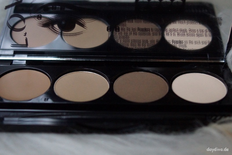 L.O.V browttitude eyebrow contouring palette Farbe 300 blonde attitude