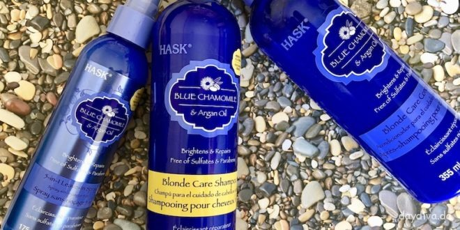 Haarpflege mit HASK Blue Chamomile & Argan Oil Serie